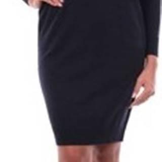 Krátké šaty S92159F1209018 Modrá