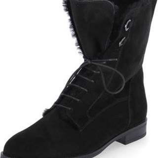Zimní boty Lauretta Černá