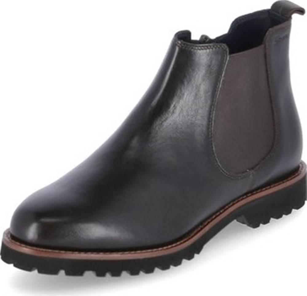 Sioux Kotníkové boty Meredith Hnědá