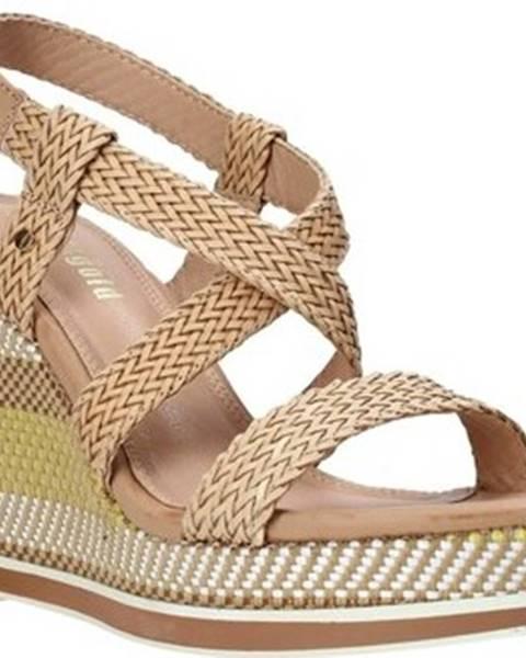 Růžové sandály Gold gold