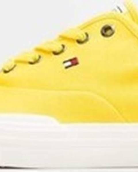 Žluté tenisky tommy hilfiger