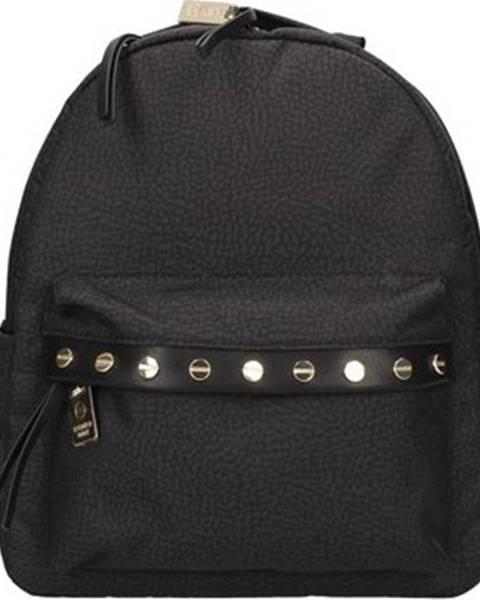 Černý batoh Borbonese