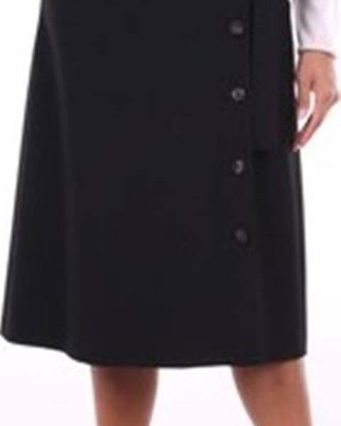 Černá sukně Peserico