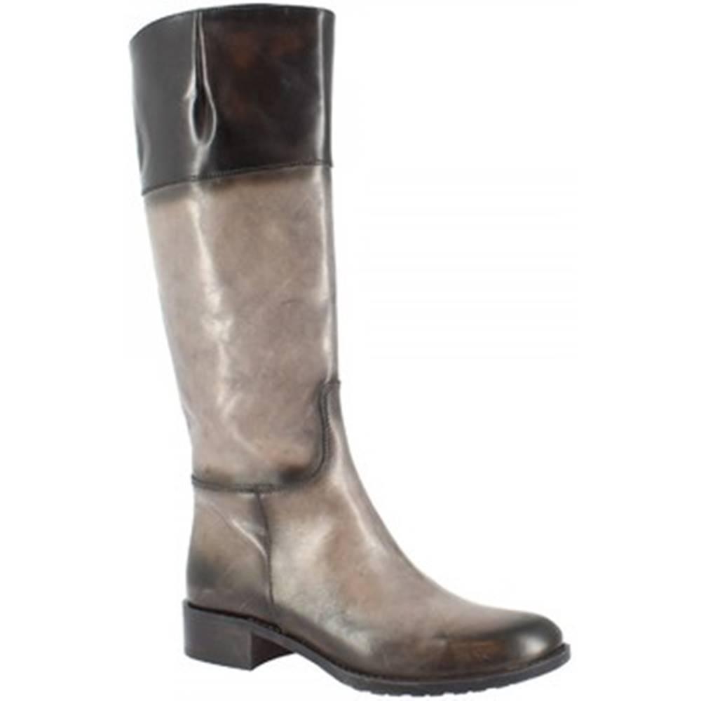 Leonardo Shoes Kozačky D087820LI6. AI02 AIR ASFALTO