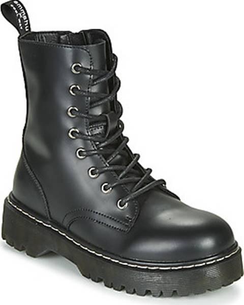 Černé boty Emmshu