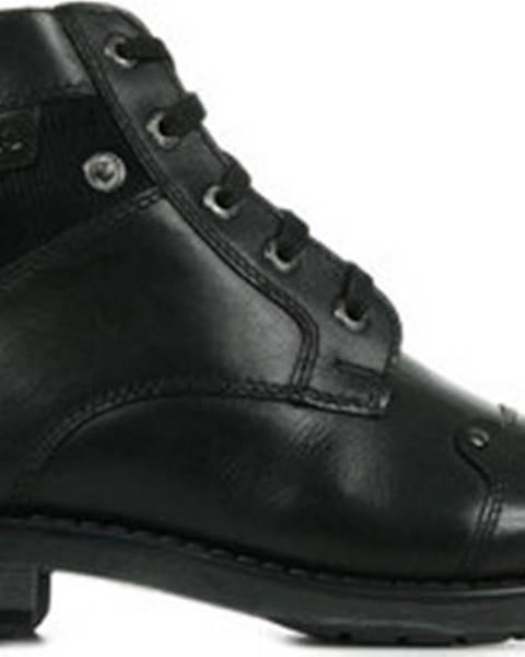Černé boty Redskins