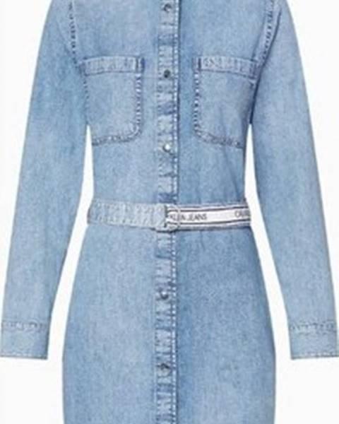 Modrá halenka calvin klein jeans