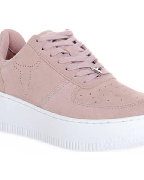 Růžové tenisky Windsor Smith