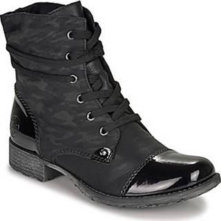 Kotníkové boty 70822-02 Černá