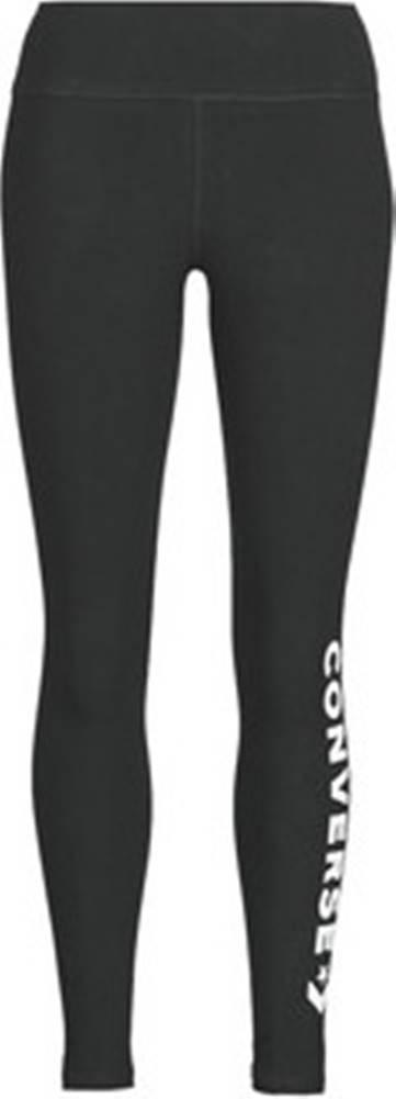 converse Legíny / Punčochové kalhoty CONVERSE WOMENS WORDMARK LEGGING Černá