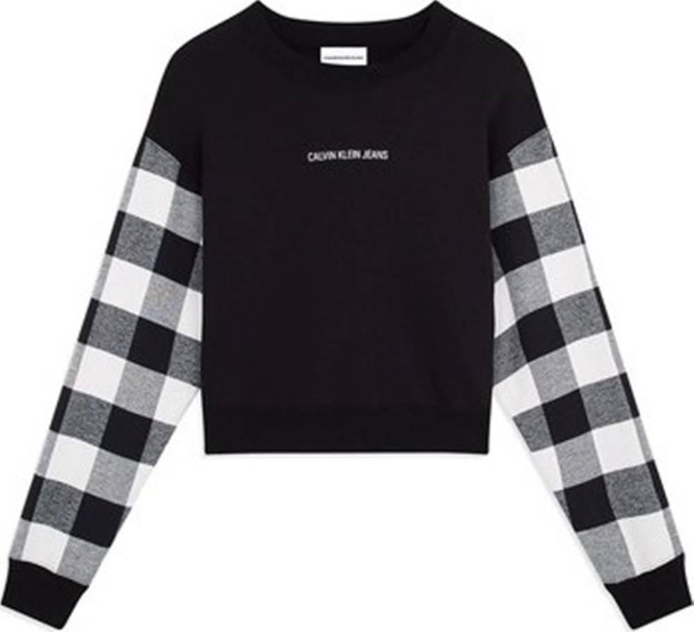 calvin klein jeans Mikiny J20J212389 Černá