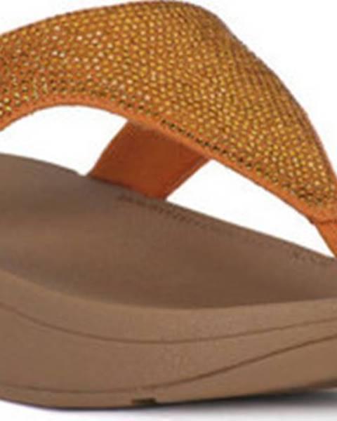 Žluté pantofle FitFlop