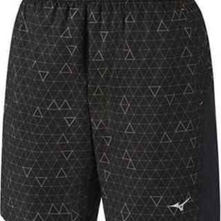 Zkrácené kalhoty 7/8 a ¾ Helix Printed Square 85 Černá