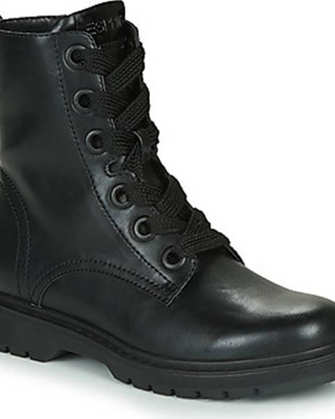 Černé boty Esprit