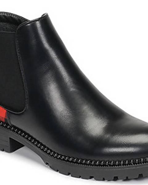 Černé boty Les Petites Bombes