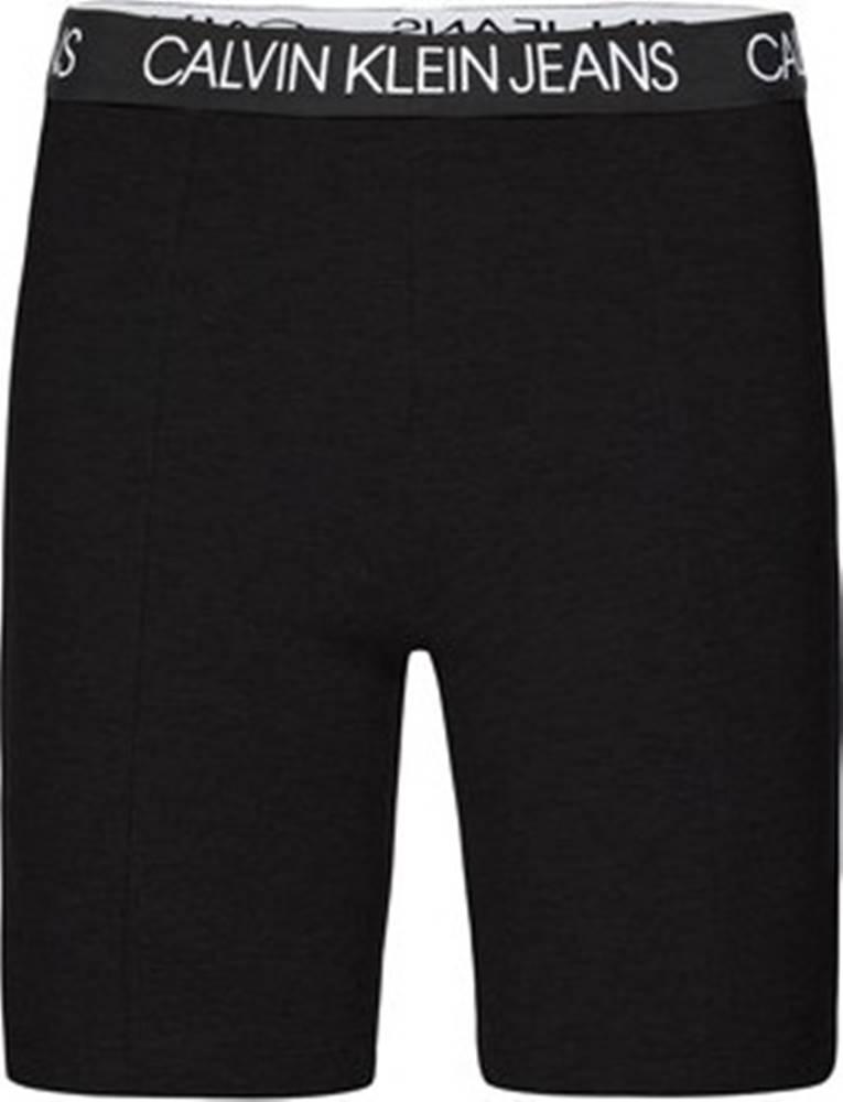 calvin klein jeans Legíny / Punčochové kalhoty J20J213586 Černá