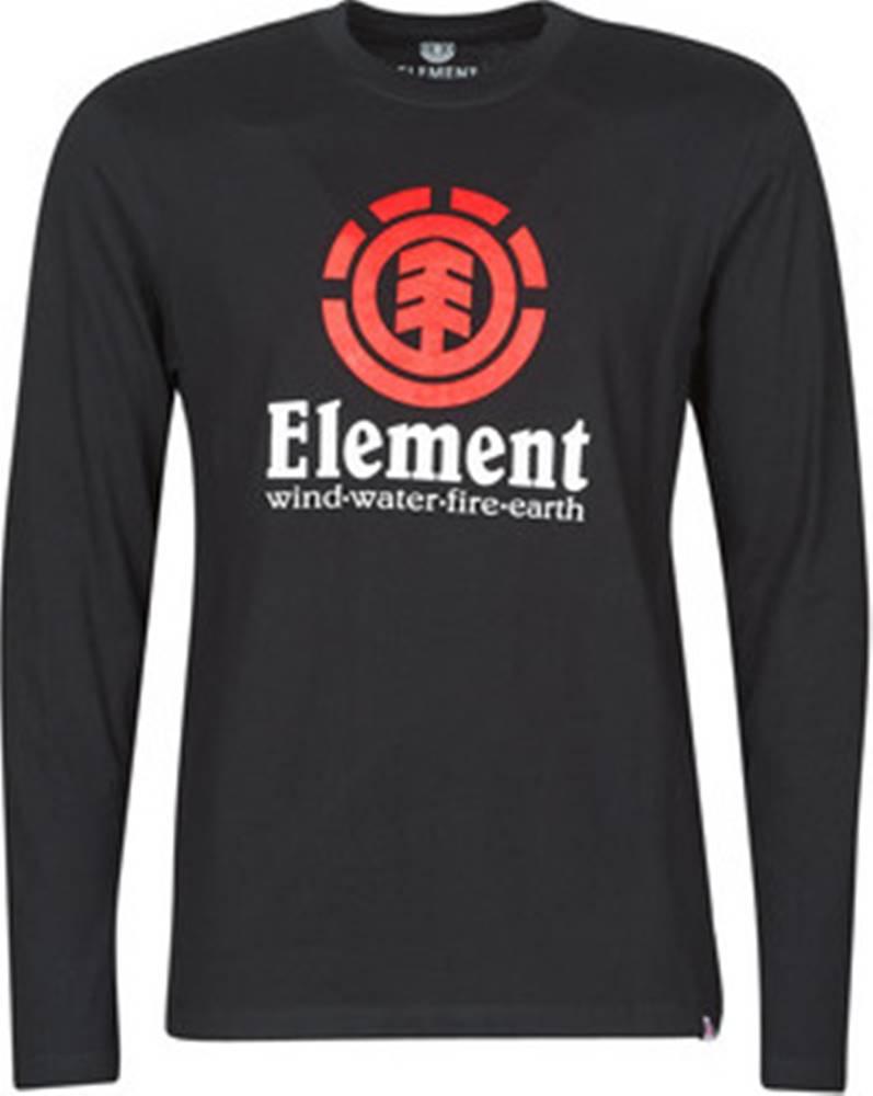 Element Trička s dlouhými rukávy VERTICAL LS Černá