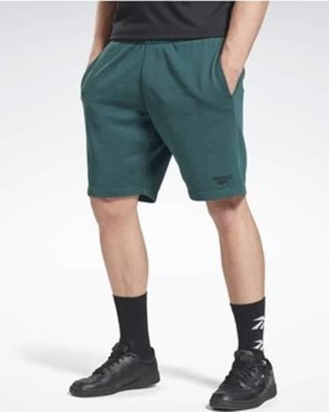 Zelené kraťasy reebok classic