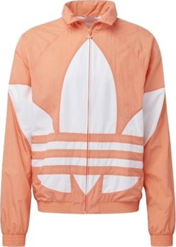 adidas adidas Teplákové bundy Sportovní bunda Big Trefoil Oranžová