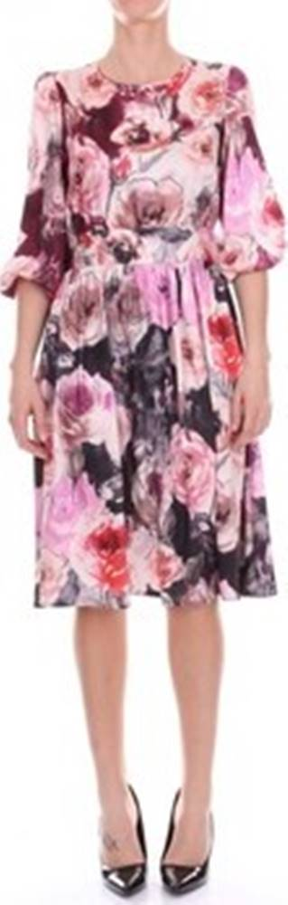 Blugirl Krátké šaty 6159 ruznobarevne