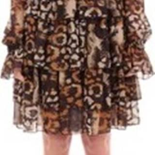 Krátké šaty 13018F ruznobarevne