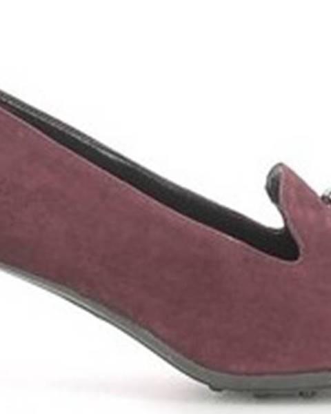 Červené boty Grace Shoes
