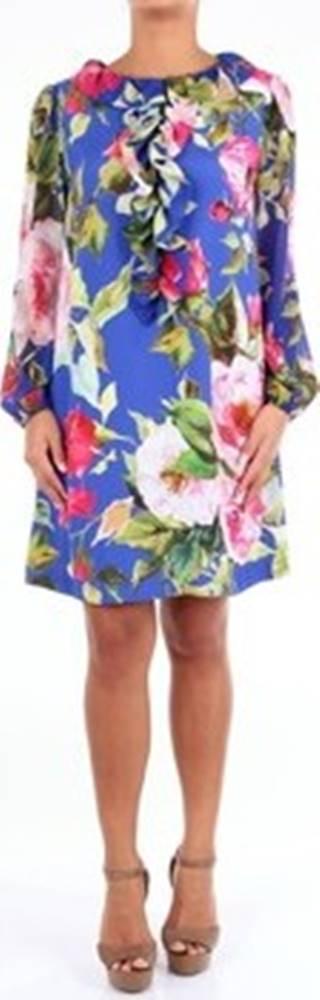 Blugirl Krátké šaty 7157 ruznobarevne