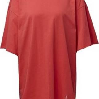 adidas Krátké šaty Šaty Recycled Cotton Oversize T-Shirt Růžová