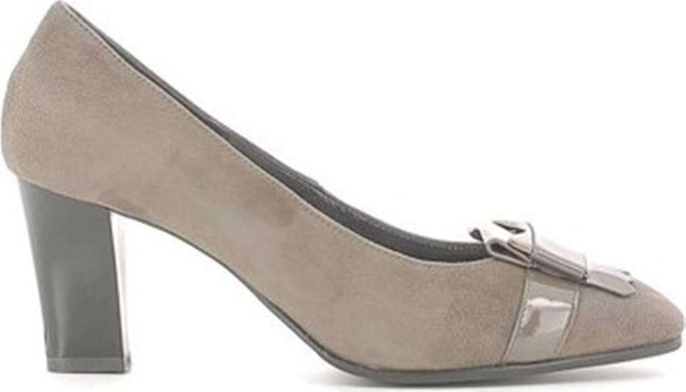 Grace Shoes Lodičky I6191 Hnědá