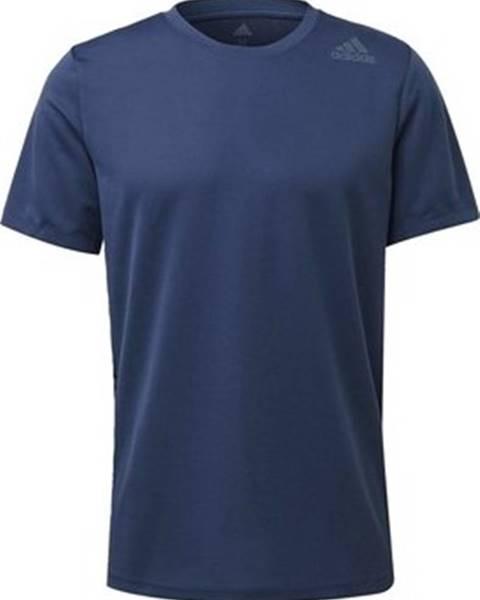 Modré tričko adidas
