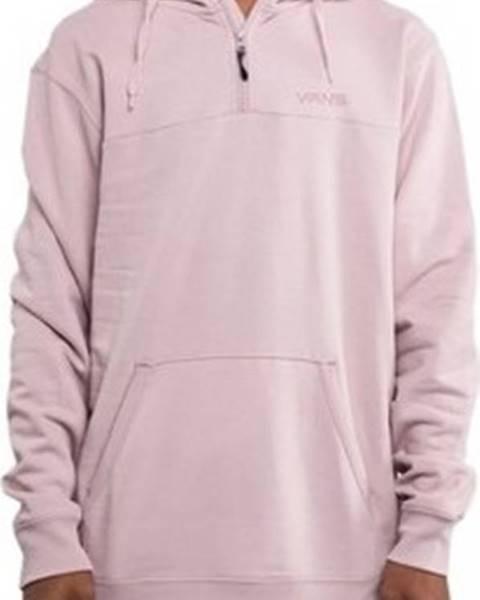 Růžová mikina vans