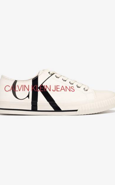 Bílé tenisky Calvin Klein