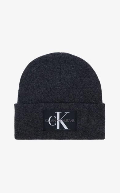 Šedá čepice Calvin Klein