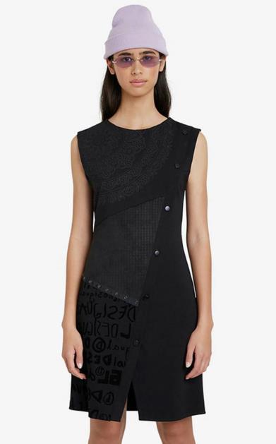Černá sukně desigual