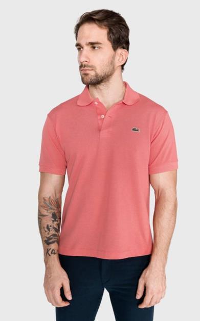 Růžové tričko lacoste