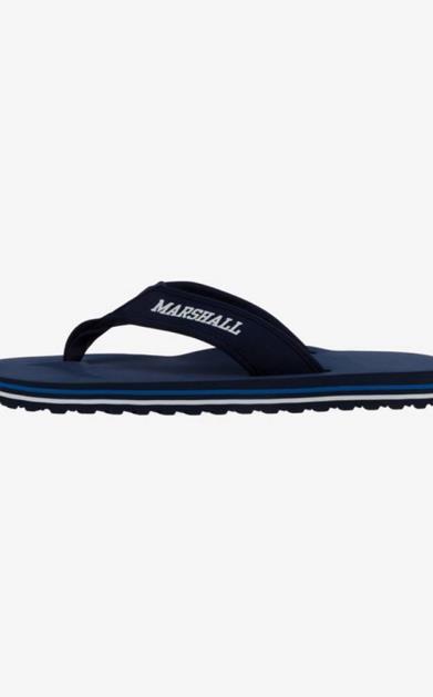 Modré pantofle Franklin & Marshall