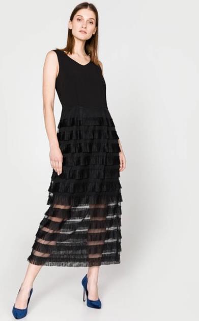 Černá sukně Silvian Heach