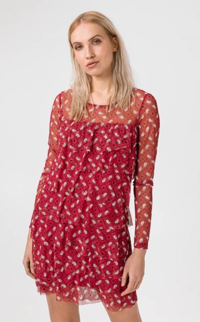 Červená sukně Liu Jo
