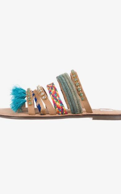 Pantofle tom tailor denim