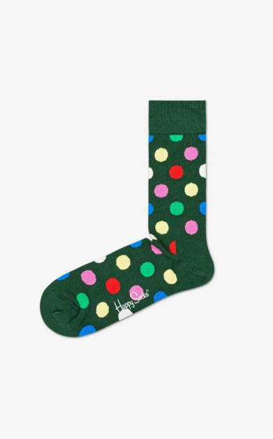 Zelené spodní prádlo happy socks