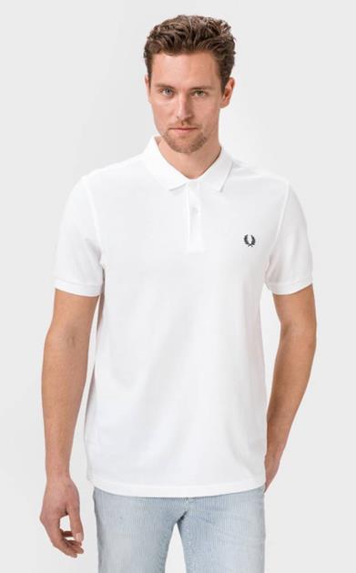 Bílé tričko Fred Perry