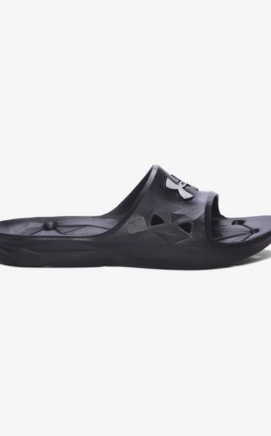 Černé pantofle under armour
