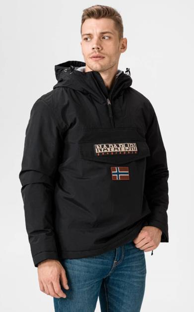 Černá bunda Napapijri