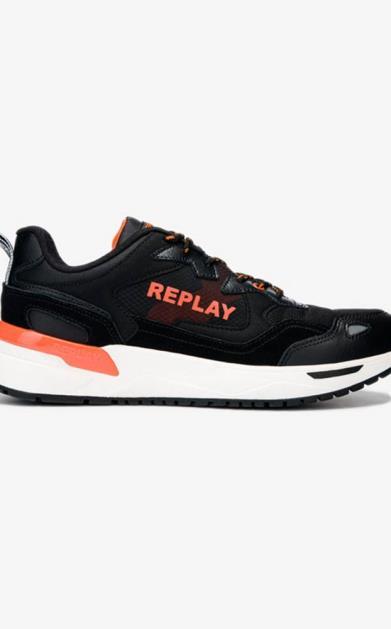 Černé tenisky Replay