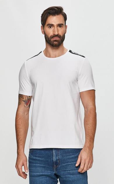 Bílé tričko Moschino Underwear