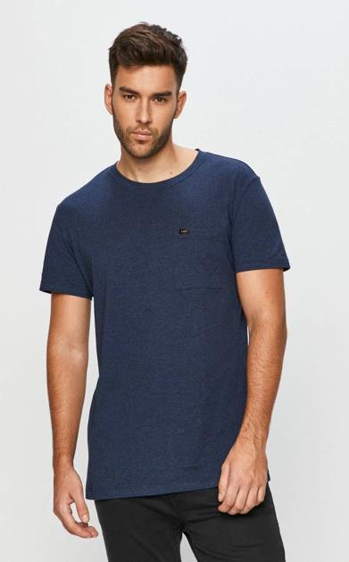Modré tričko lee