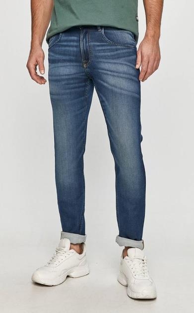 Modré kalhoty PRODUKT by Jack & Jones