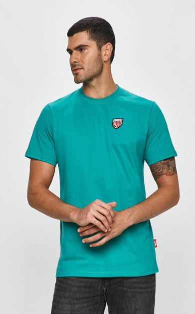 Tyrkysové tričko Prosto
