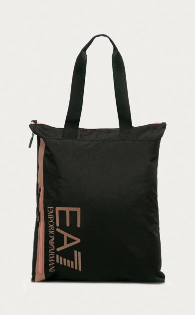 Černá kabelka EA7 Emporio Armani