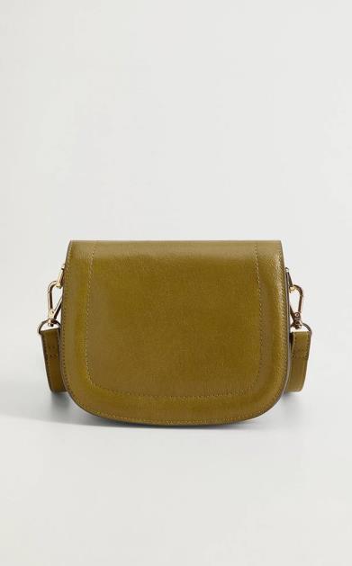 Zelená kabelka Mango